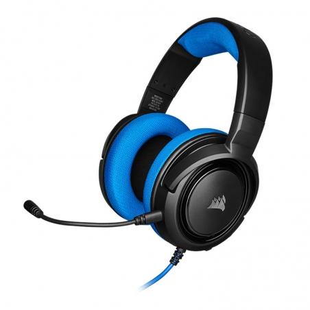 Auriculares Gamer Corsair HS35 Estéreo azul. Tienda Oficial en Paraguay